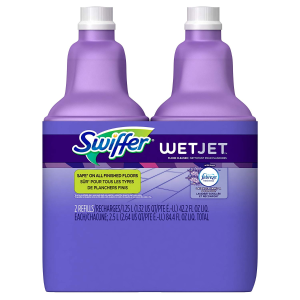 $8.38(原价$11.98)Swiffer WetJet 地板清洁液 1.25L 2桶装 薰衣草香
