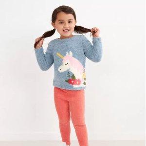 6折起 包邮Hanna Andersson 新款和经典款童装促销,有秋季毛衣