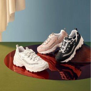 低至4折 周洁琼同款€37.45折扣升级:Sketcher斯凯奇 老爹鞋热卖 隐形增高 每一步都潮酷