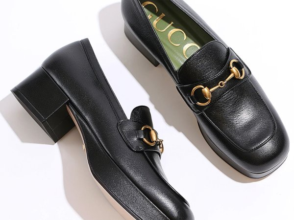 Houdan 15厚底乐福鞋
