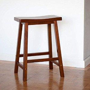 $23.99(原价$40)Winsome 木质吧台椅 24