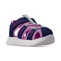 Skechers 女小童凉鞋