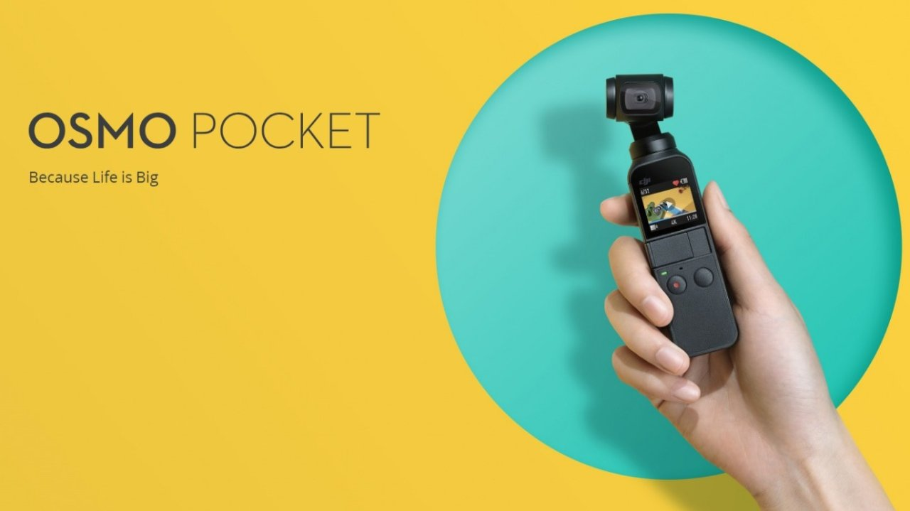 Dji Osmo Pocket | 大疆手持云台的疯狂种草时间