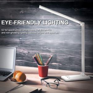 $29.99(原价$35.99)Duan'sun LED护眼台灯 5种模式10级亮度 无闪烁 自动关闭定时