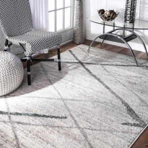 低至3折 免运费Overstock 精选高级灰地毯热卖