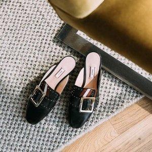 无门槛6折黑五提前享:Bally 惊喜好折 收经典方扣乐福鞋 多色可选