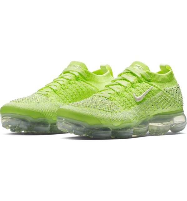 Air VaporMax 荧光绿运动鞋