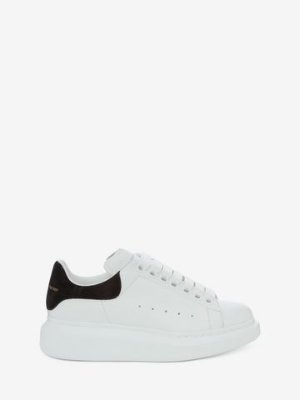 Alexander McQueen Women's Black  Oversized Sneaker 