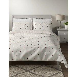 Marks&Spencer棉混纺蝴蝶床上用品套装 KIng size