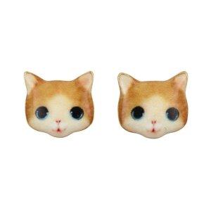 Earring Kitten Ginger