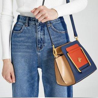 双12抄底价¥999英国AJOY SAHU小众轻奢设计师品牌 复古手提斜挎包