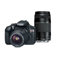 Canon EOS Rebel T6 EF-S 18-55 + EF 75-300mm f/4-5.6 III 镜头