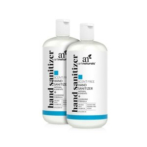 artnaturalsHand sanitizer scent free - 2 pack