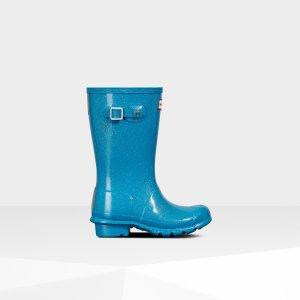 Hunter大童雨靴