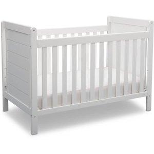 Delta Children Sunnyvale 4-in-1 Convertible Crib White
