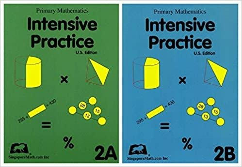 Primary Math Intensive Practice 2A 2B两本