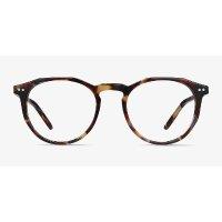玳瑁圆框眼镜