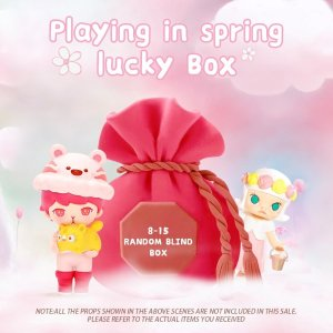 POP MART春季福袋 含8-15件盲盒