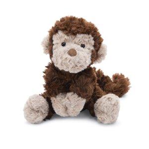 Jellycat新加入杂毛猴子毛绒玩具