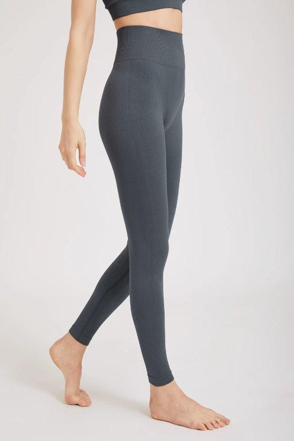 High Waisted Ankle-Length Yoga Legging
