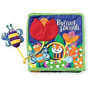 Amazon.com: Manhattan Toy Soft Activity Book with Tethered Toy, Buzzing Through: Toys & Games
