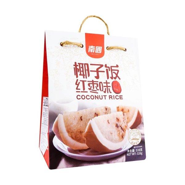 南国 一整颗椰子糯米饭 加热即食 538g (红枣味)