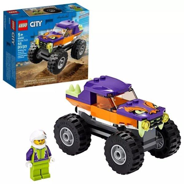 城市怪兽卡车 60251