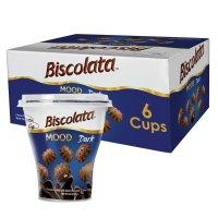 Biscolata 黑巧克力夹心小星星酥脆饼干 6杯装