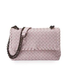 $1100Bottega Veneta Baby Olimpia Intrecciato Shoulder Bag