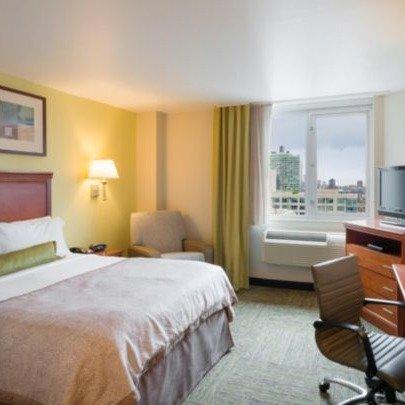 纽约时代广场烛木套房酒店