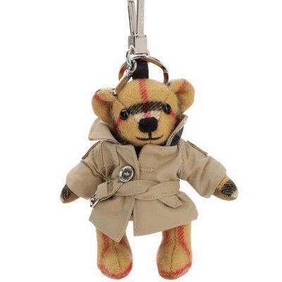 满额85折 £144收封面款小熊Burberry 配饰专区折扣进行时 经典色格纹围巾都有