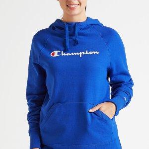 Champion Graphic Fleece Hooded Sweatshirt