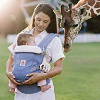 低至6.9折 封面款降价Ergobaby Adapt 新一代婴儿背带,不再需要insert