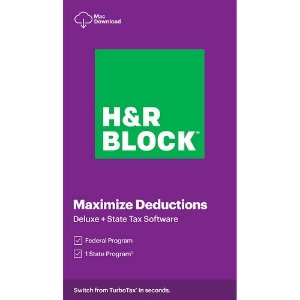 H&R Block2020 Deluxe + State Mac下载版