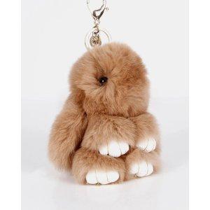 Faux Fur Bunny 装死兔