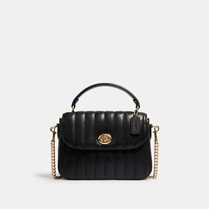 Marlie 绗缝手提包