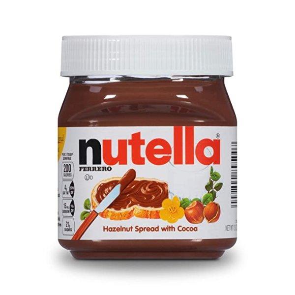 Nutella 经典巧克力榛子酱,13oz装