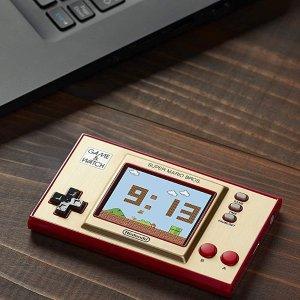 7折 €41.7(原价€59.99)Nintendo Game &Watch  35周年特别版游戏机限量发售