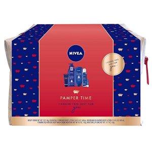 $12.5(原价$25)Nivea 妮维雅 奢华护肤正装 5件礼包套装
