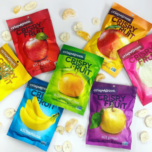 $14.4Crispy Green Freeze-Dried Fruit, Single-Serve, Tropical Variety Pack 16 Count