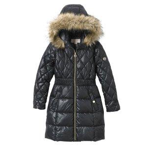 cb5ef2068 Michael KorsMICHAEL Michael Kors Girls' 7-16 Full Length Puffer Jacket