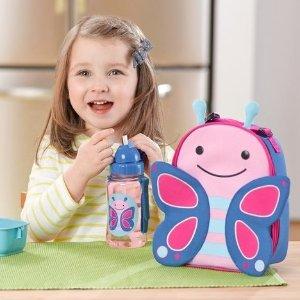 $10(原价$19.95)手慢无:Skip Hop 儿童午餐包热卖 可爱蝴蝶领回家