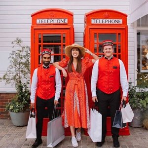 奥莱价+额外9折优惠折扣延长:惊喜连连的时尚探索体验 尽在伦敦比斯特购物村