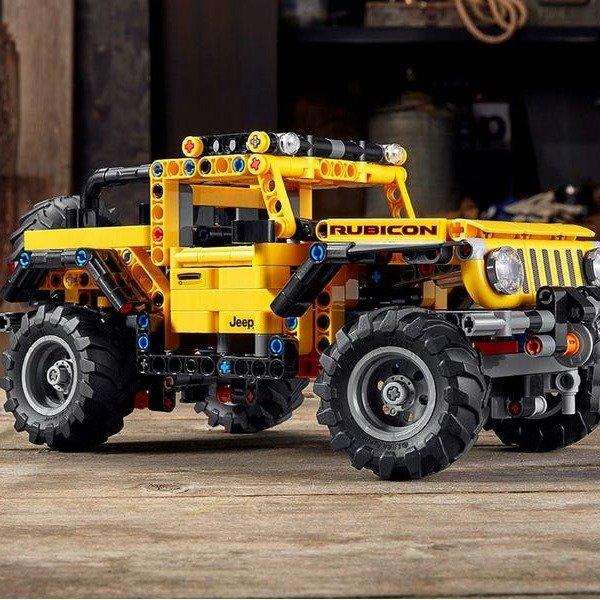Jeep® 牧马人 42122 | 机械组