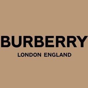 5折起+叠7.5折 £266收帆布鞋折扣升级:Burberry 大促再降价 SS20新款罕见力度 热门单品全在线