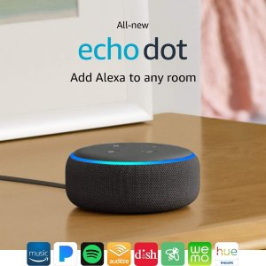 Two for $89.99All-new Echo Dot