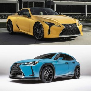 原厂改装 颇具品味Lexus 发布 LC/UX 概念版