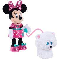 Disney 可爱米妮和宠物狗 毛绒玩具
