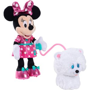 $13.77(Was $39.99)Minnie's Walk & Play Puppy Feature Plush