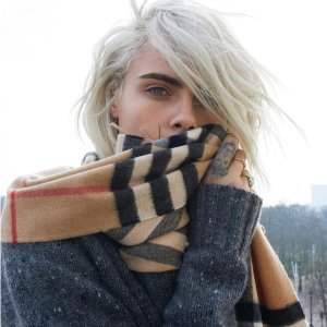 Dealmoon Exclusive $339 (Org.$540)Burberry Large Cashmere Scarves Sale @ JomaShop